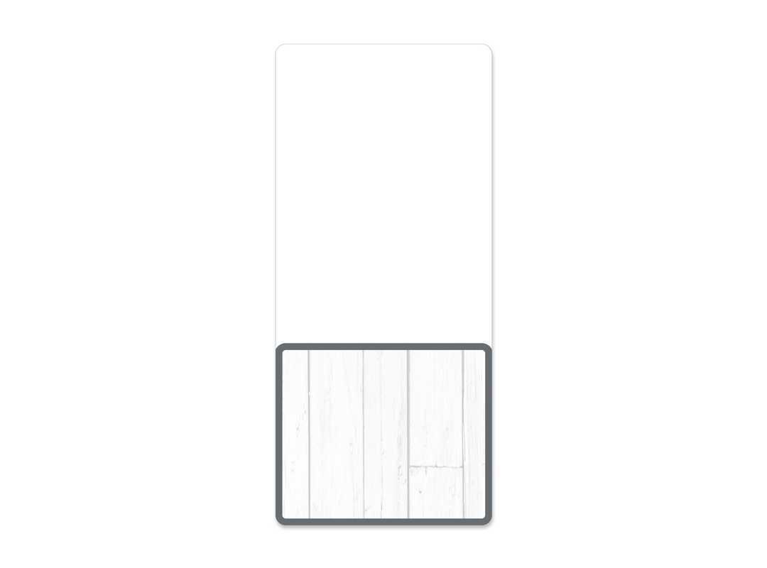 BLA002 - Blanco Nutri 6 p/s Label