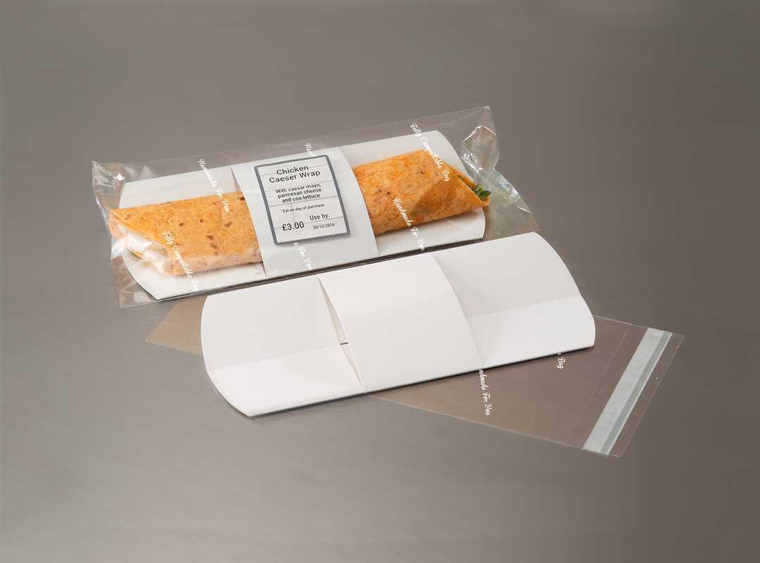 BLA011 - Blanco Wrap Bag & Card Insert