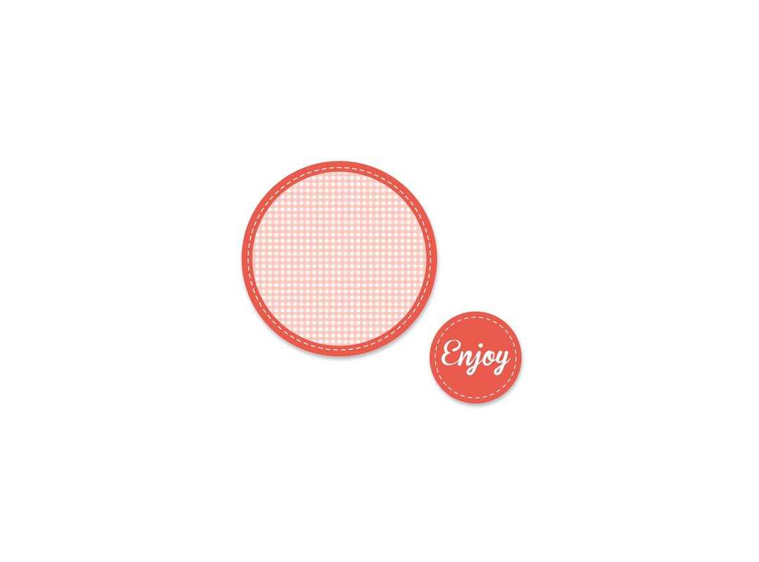ENJ001 - Enjoy Red 15 p/s Label