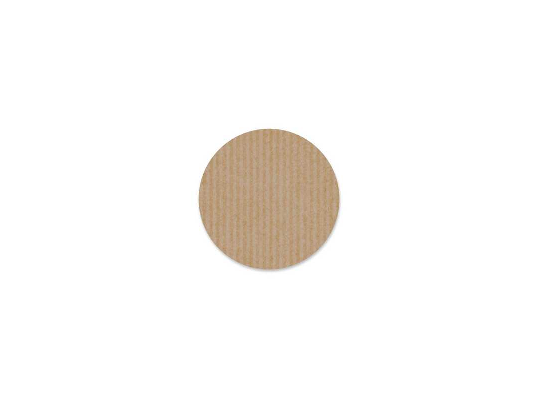 SIM003 - Simply Natural Round Small 24p/s Label