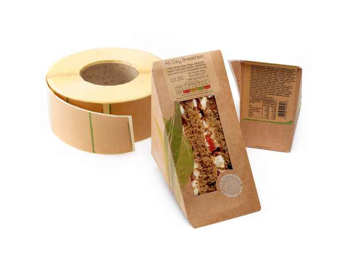 Ecoco Nutri Roll Label